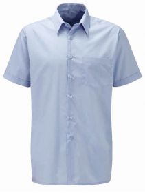 Classic Shirt With Short Sleeves