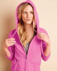 Gildan 18600FL Heavy Blend Ladies' Full Zip Hood Sweat