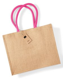 Westford Mill Classic Jute Shopper W407