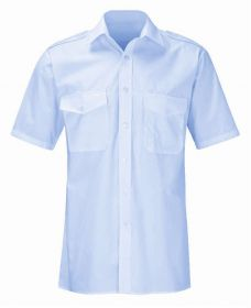 Pilot Shirt With Short Sleeves