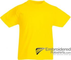 Fruit of the Loom 61033 Yellow