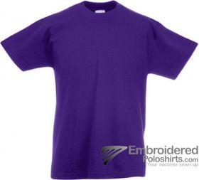 Fruit of the Loom 61033 Purple