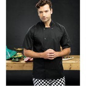 PR656 Premier Short sleeved chef's jacket