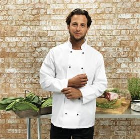 PR661 Premier Cuisine long sleeve chef's jacket