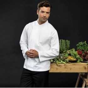 PR669 Premier Culinary pull-on - chef's long sleeve tunic