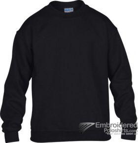 Gildan Gildan Childrens Crewneck Sweatshirt-pantone 426C Black