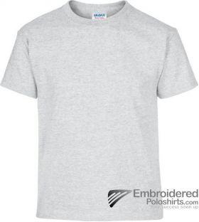 Gildan Children's Heavy Cotton T-Shirt-pantone CG3C Ash Grey