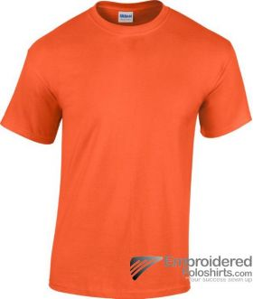 Gildan Heavy Cotton T-Shirt-pantone 1665C Orange