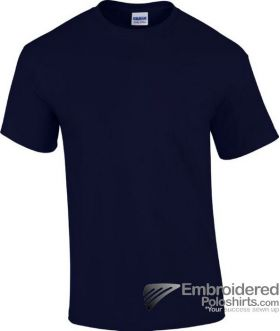 Gildan Heavy Cotton T-Shirt-pantone 533C Navy