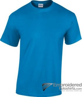 Gildan Heavy Cotton T-Shirt-pantone 641C Sapphire