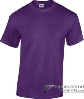 Gildan Heavy Cotton T-Shirt-pantone 669C Purple