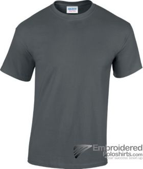 Gildan Heavy Cotton T-Shirt-pantone CG10C Charcoal