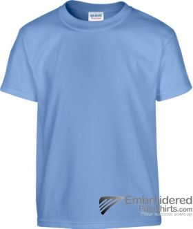 Gildan Children's Heavy Cotton T-Shirt-pantone 659C Carolina Blue