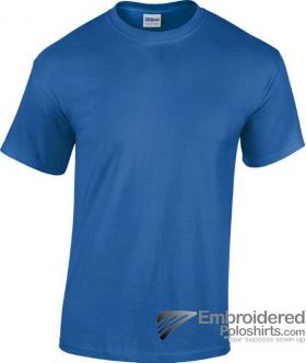 Gildan Heavy Cotton T-Shirt-pantone 7686C Royal