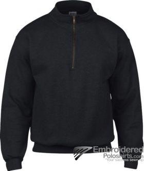 Gildan Gildan Adult Vintage 1/4 Zip Sweatshirt-pantone 426C Black