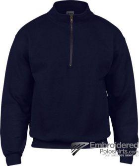 Gildan Gildan Adult Vintage 1/4 Zip Sweatshirt-pantone 533C Navy