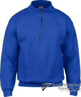 Gildan Gildan Adult Vintage 1/4 Zip Sweatshirt-pantone 7686C Royal