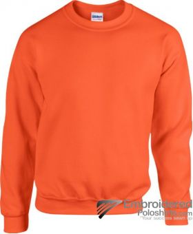 Gildan Heavy Blend  Adult Crewneck Sweatshirt-pantone 1665C Orange