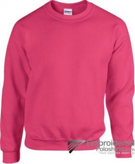 Gildan Heavy Blend  Adult Crewneck Sweatshirt-pantone 213C Heliconia