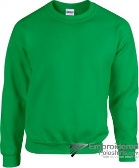 Gildan Heavy Blend  Adult Crewneck Sweatshirt-pantone 340C Irish Green