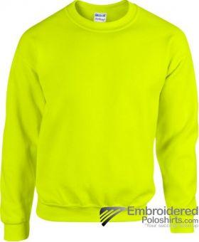 Gildan Gildan Heavy Blend 50/50 Sweatshirt-pantone 382C Safety Green