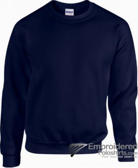 Gildan Heavy Blend  Adult Crewneck Sweatshirt-pantone 533C Navy