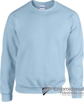 Gildan Heavy Blend  Adult Crewneck Sweatshirt-pantone 536C Light Blue