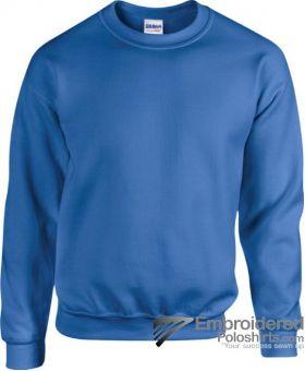 Gildan Heavy Blend  Adult Crewneck Sweatshirt-pantone 7686C Royal