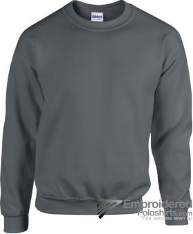 Gildan Heavy Blend  Adult Crewneck Sweatshirt-pantone CG10C Charcoal