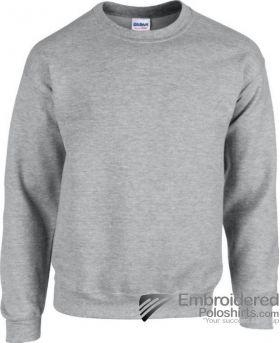 Gildan Heavy Blend  Adult Crewneck Sweatshirt-pantone CG7C Sport Grey
