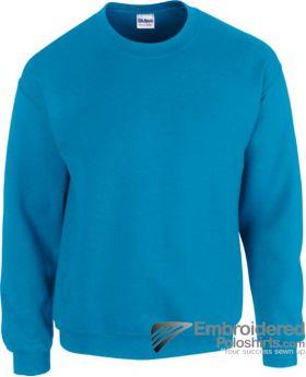 Gildan Heavy Blend  Adult Crewneck Sweatshirt-pantone 7706C Antique Sapphire