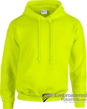 Gildan Gildan Adult Hooded Sweatshirt-pantone 382C Safety Green