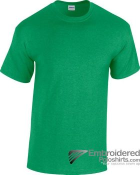 Gildan Heavy Cotton T-Shirt-pantone 348C Antique Irish Green