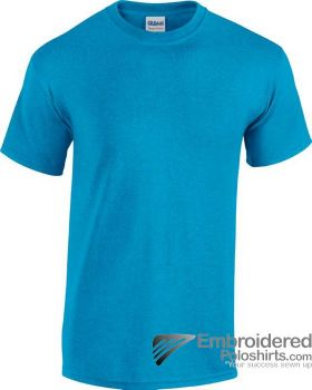 Gildan Gildan Heavy Cotton T-Shirt-pantone 7690C Heather Sapphire