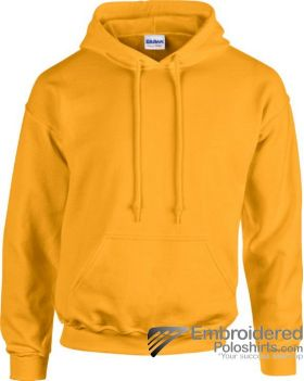 Gildan Heavy Blend  Adult Hooded Sweatshirt-pantone 1235C Gold