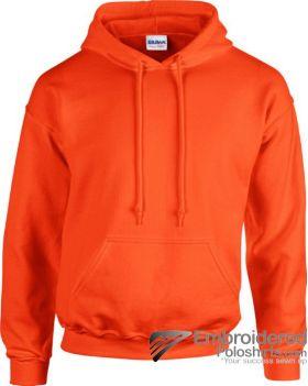 Gildan Heavy Blend  Adult Hooded Sweatshirt-pantone 1665C Orange