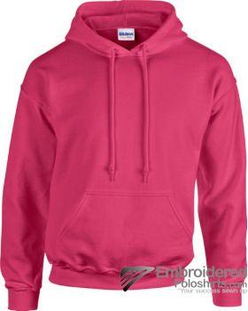 Gildan Heavy Blend  Adult Hooded Sweatshirt-pantone 213C Heliconia