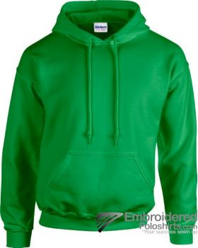 Gildan Heavy Blend  Adult Hooded Sweatshirt-pantone 340C Irish Green
