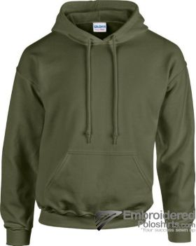 Gildan Heavy Blend  Adult Hooded Sweatshirt-pantone 417C 417C