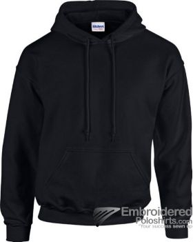 Gildan Heavy Blend  Adult Hooded Sweatshirt-pantone 426C Black