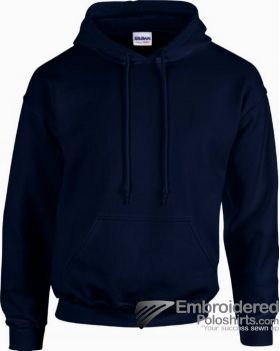Gildan Heavy Blend  Adult Hooded Sweatshirt-pantone 533C Navy