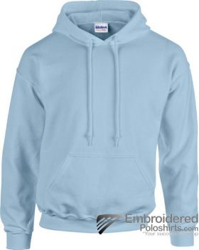 Gildan Heavy Blend  Adult Hooded Sweatshirt-pantone 536C Light Blue