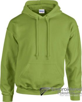 Gildan Heavy Blend  Adult Hooded Sweatshirt-pantone 5777C Kiwi