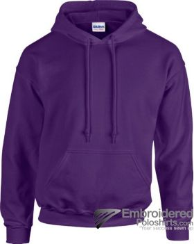 Gildan Heavy Blend  Adult Hooded Sweatshirt-pantone 669C Purple