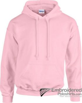 Gildan Heavy Blend  Adult Hooded Sweatshirt-pantone 685C Light Pink