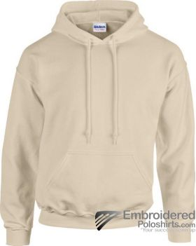 Gildan Heavy Blend  Adult Hooded Sweatshirt-pantone 7528C Sand