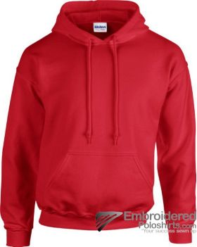 Gildan Heavy Blend  Adult Hooded Sweatshirt-pantone 7620C Red