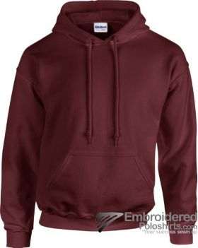 Gildan Heavy Blend  Adult Hooded Sweatshirt-pantone 7644C Maroon
