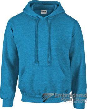 Gildan Heavy Blend  Adult Hooded Sweatshirt-pantone 7706C Antique Sapphire