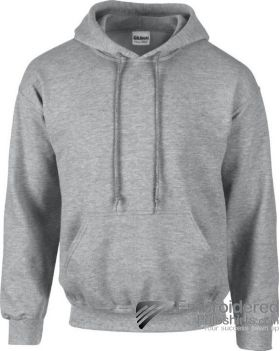 Gildan Heavy Blend  Adult Hooded Sweatshirt-pantone CG7C Sport Grey